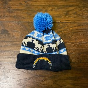 New Era Los Angeles Chargers winter hat